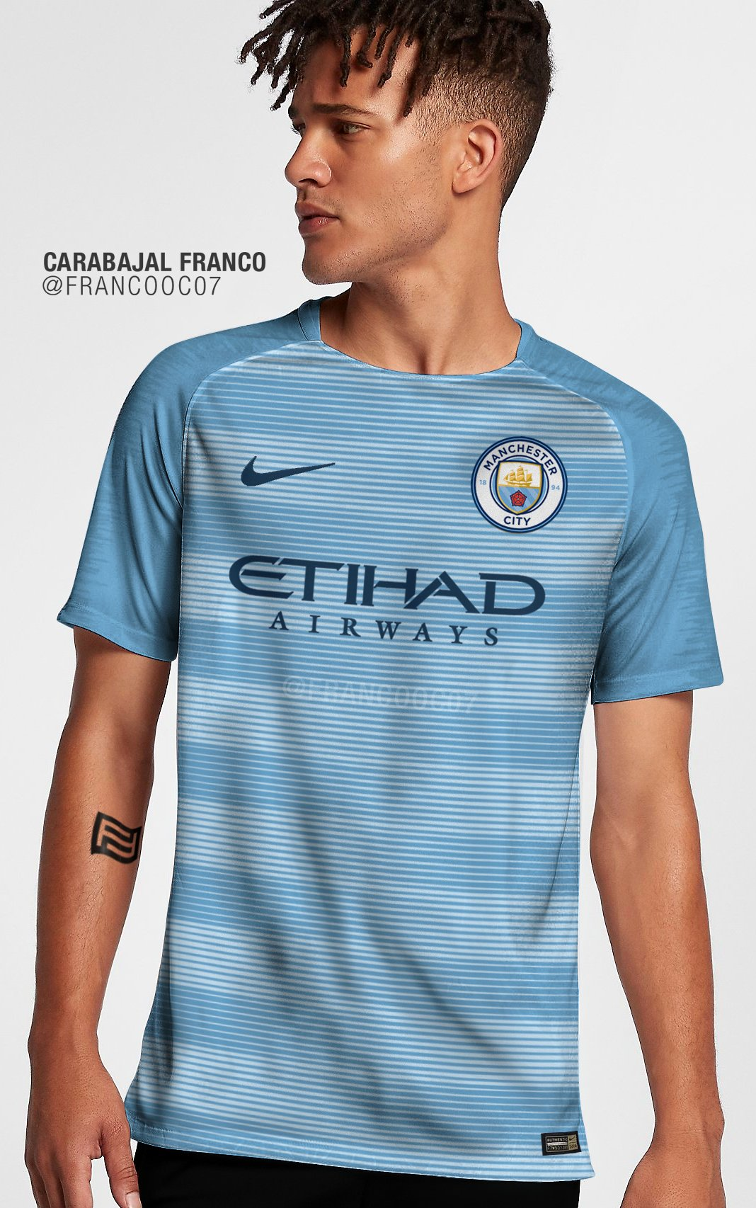 Домашняя форма Манчестер Сити сезона 2018-2019