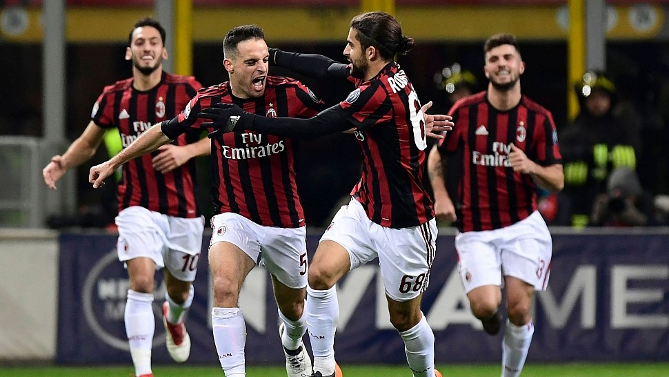 Игроки Милана