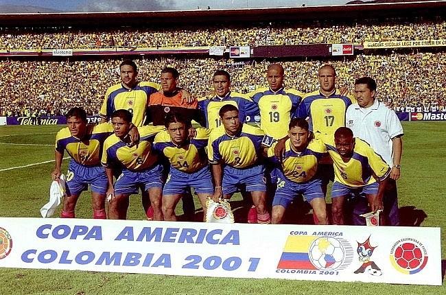 Сборная Колумбии - победитель и обладатель кубка Америки 2001