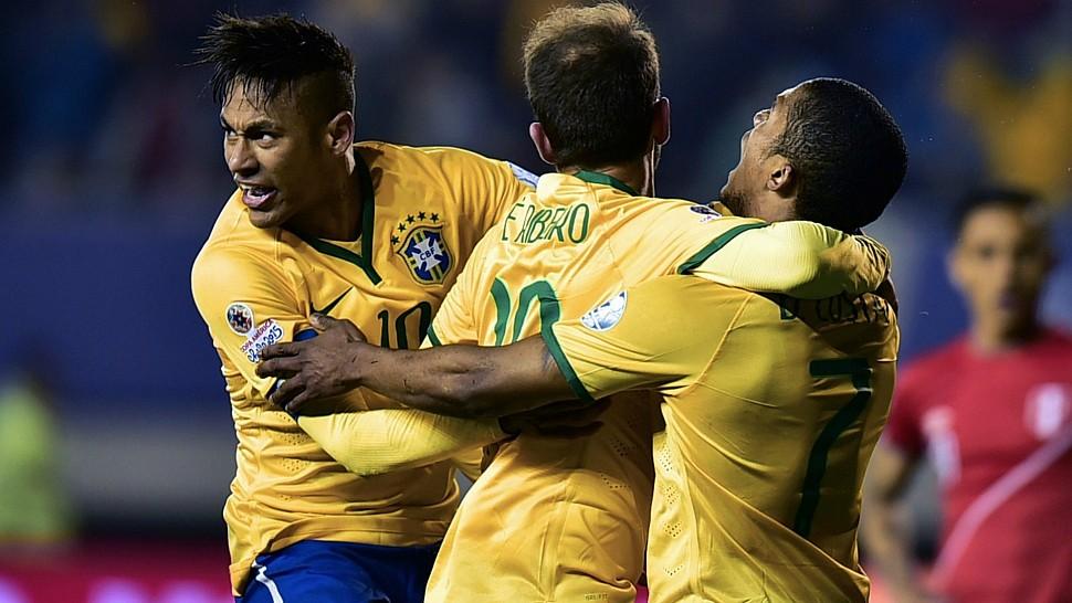 Дуглас Коста - Семёрка в своей сборной