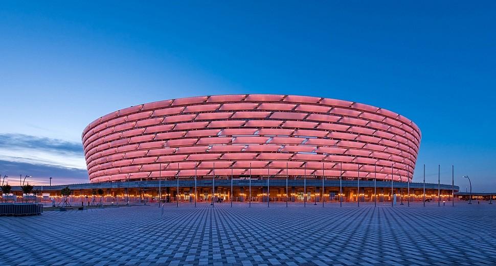 Баку Олимпия стадион