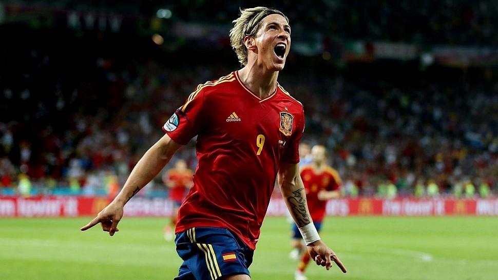 Торрес в сборной Испании