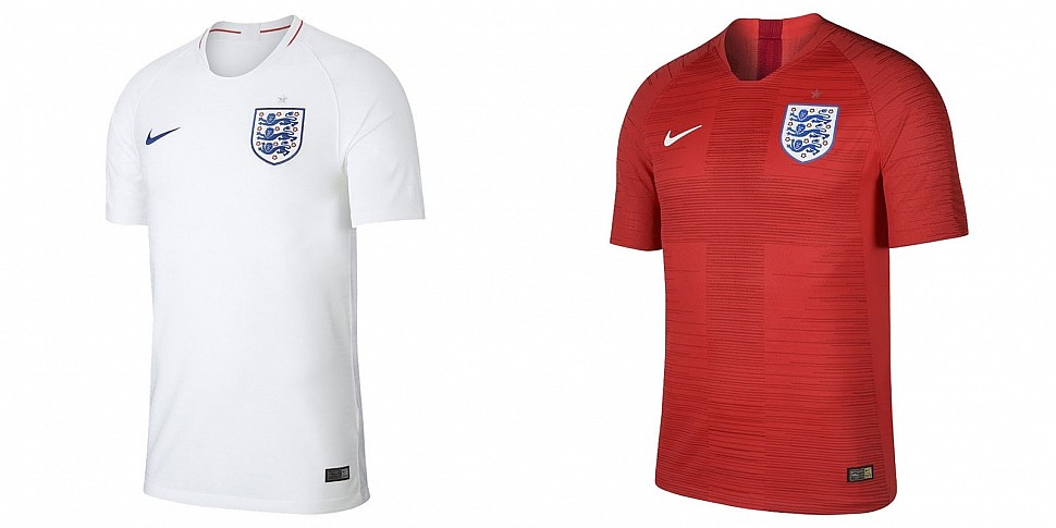 Форма сборной Англии 2018